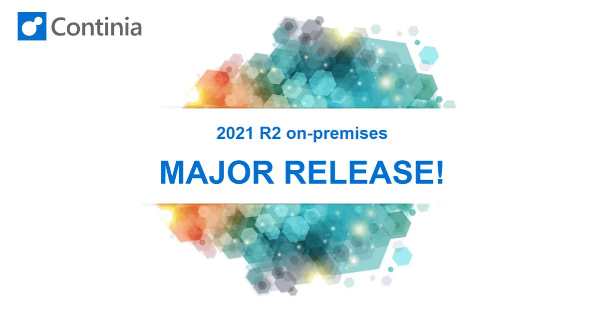 Continia Release 2021 R2